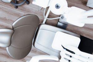 Mesure sanitaire dans un cabinet dentaire.